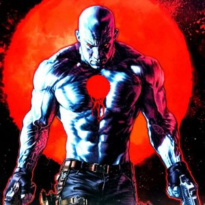 Bloodshot is a character from Valiant Comics