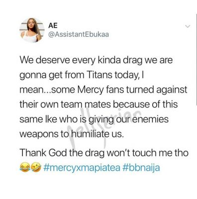 Fan Calls Ike Onyema A Pig For Going Live With Tacha