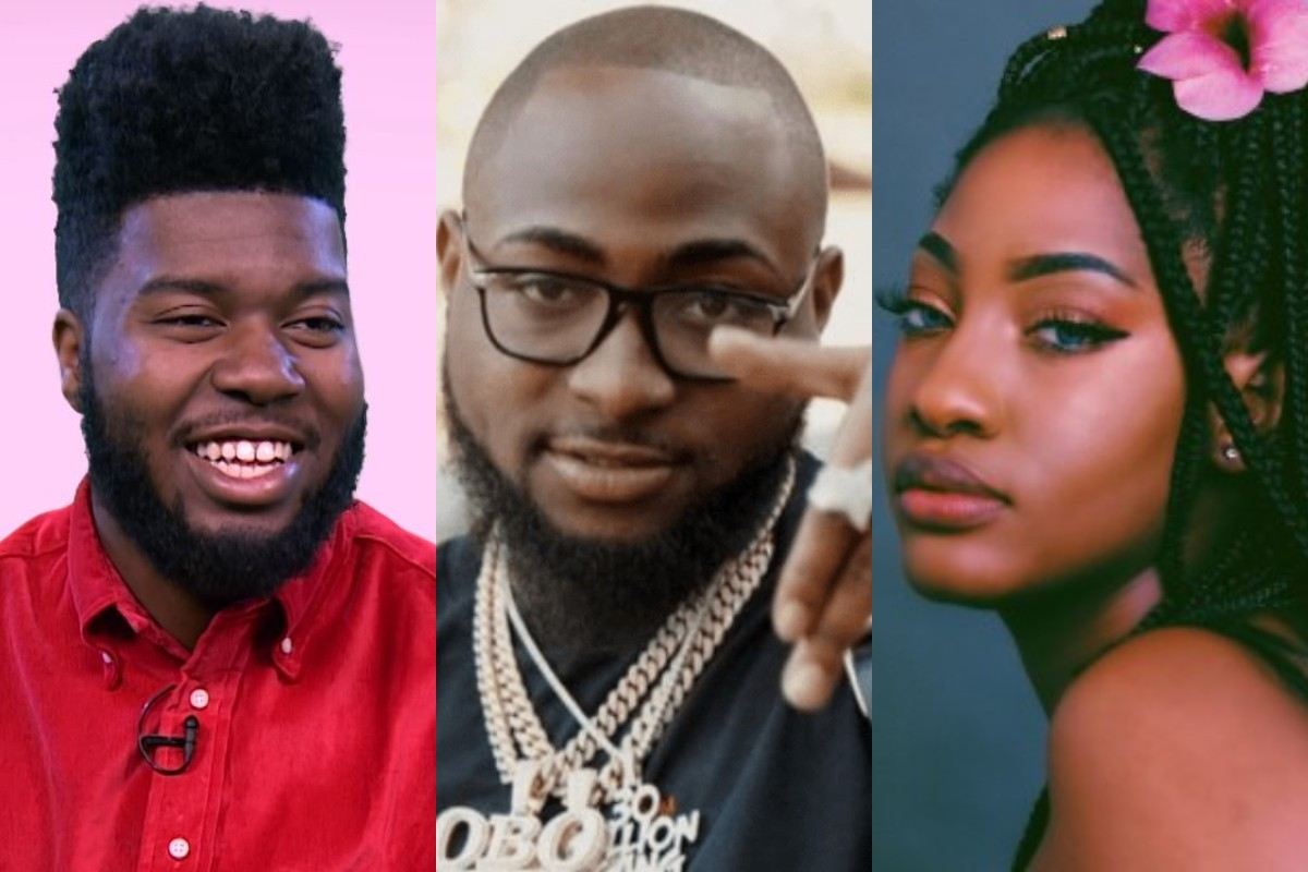 Nigerians demean Davido on recent collaboration with Khalid and Tems