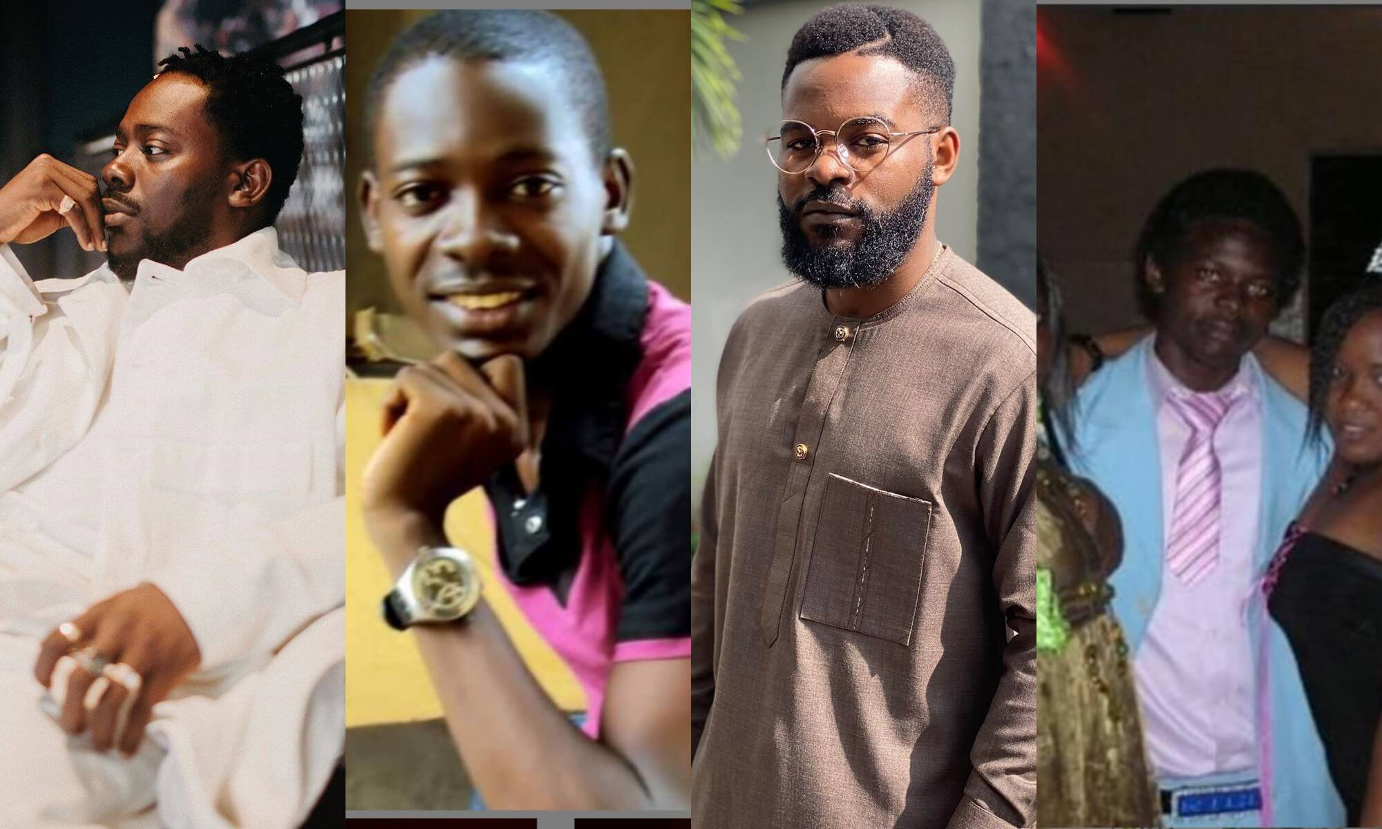 Falz & Adekunle Gold Ridicule Each Other In A Throwback Fight