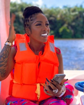 See The DMW Crew Member Allegedly Dating Tiwa Savage