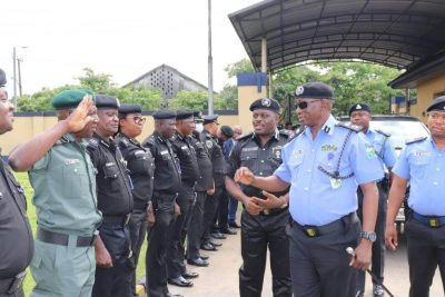 Policemen in Rivers State