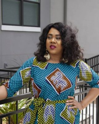 Stella Damasus-Aboderin says her 21-year old daughter made parenting easy for her