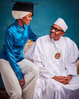 President Muhammadu Buhari's Daughter, Hanan Sets To Tie The Knot With Her Lover
