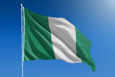 The Nigerian national flag