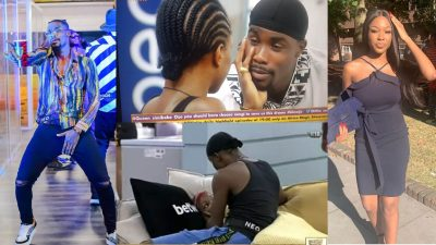 Lovely Moment Neo went on his knees to apologize to Vee after offending her (Video)