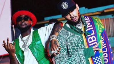 Davido features U.S. singer Chris Brown on the album