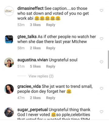 Twitter Users Lash Mercy Eke Over 'Insensetive' Comment Against Ongoing BBNaija Housemates
