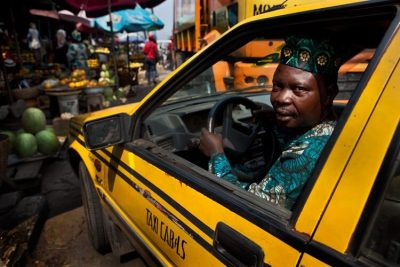 A taxi driver in Lagos State