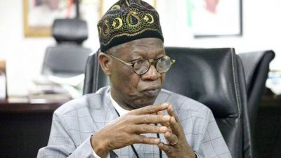 Minister of Information and Culture, Lai Mohammed, accused by the NBC
