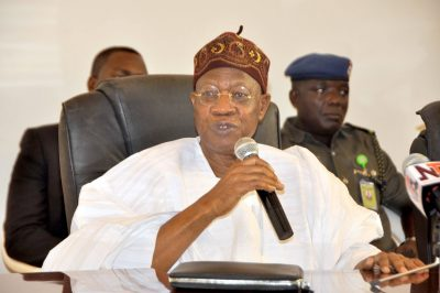 Twitter users bash Lai Mohammed