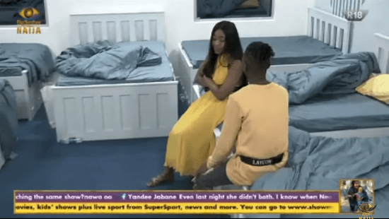 #BBNaija: Erica Cries Profusely For Betraying Laycon