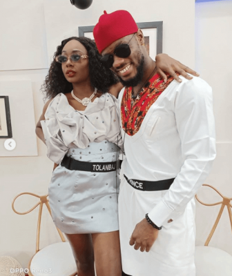 #BBNaija: Tolanibaj Seen Lamenting Over Prince Refusal To Sleep With Her [VIDEO] (edited)