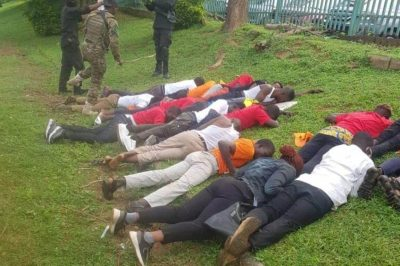 Protesters humiliated by security operatives in Abuja yesterday