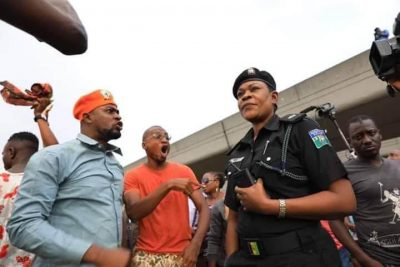 Protesters clashed with the police last year