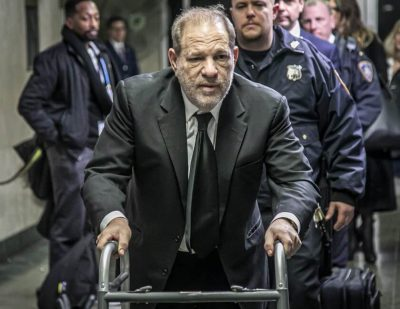 Harvey Weinstein tested positive for COVID-19 back in March but recovered