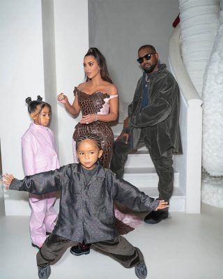The Wests continue their family vacation