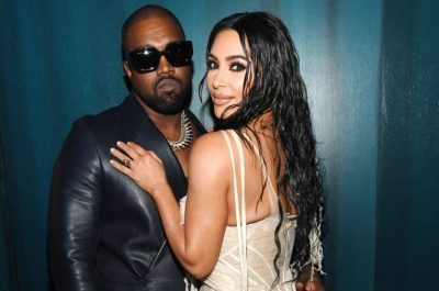 Kanye West and Kim Kardashian currently holed up in an isolated fortress