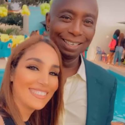 Popular Nigerian lawyer, politician and humanitarian, Prince Ned Nwoko took out time with his Moroccan wife to celebrate their son, Sultan who was marking his third birthday.  The couple held a lowkey party for him at their Abuja home.  Young mother, Regina Daniels was also in attendance and it was a happy moment for Ned's household.  Prince Ned Nwoko And Moroccan Wife Celebrate Son On His 3rd Birthday