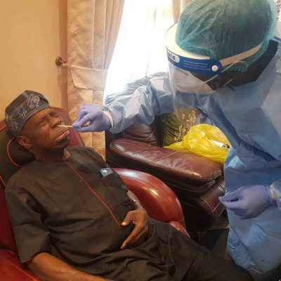 Obasanjo being tested for COVID-19