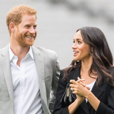 Prince Harry and Meghan Markle moved into the home last month