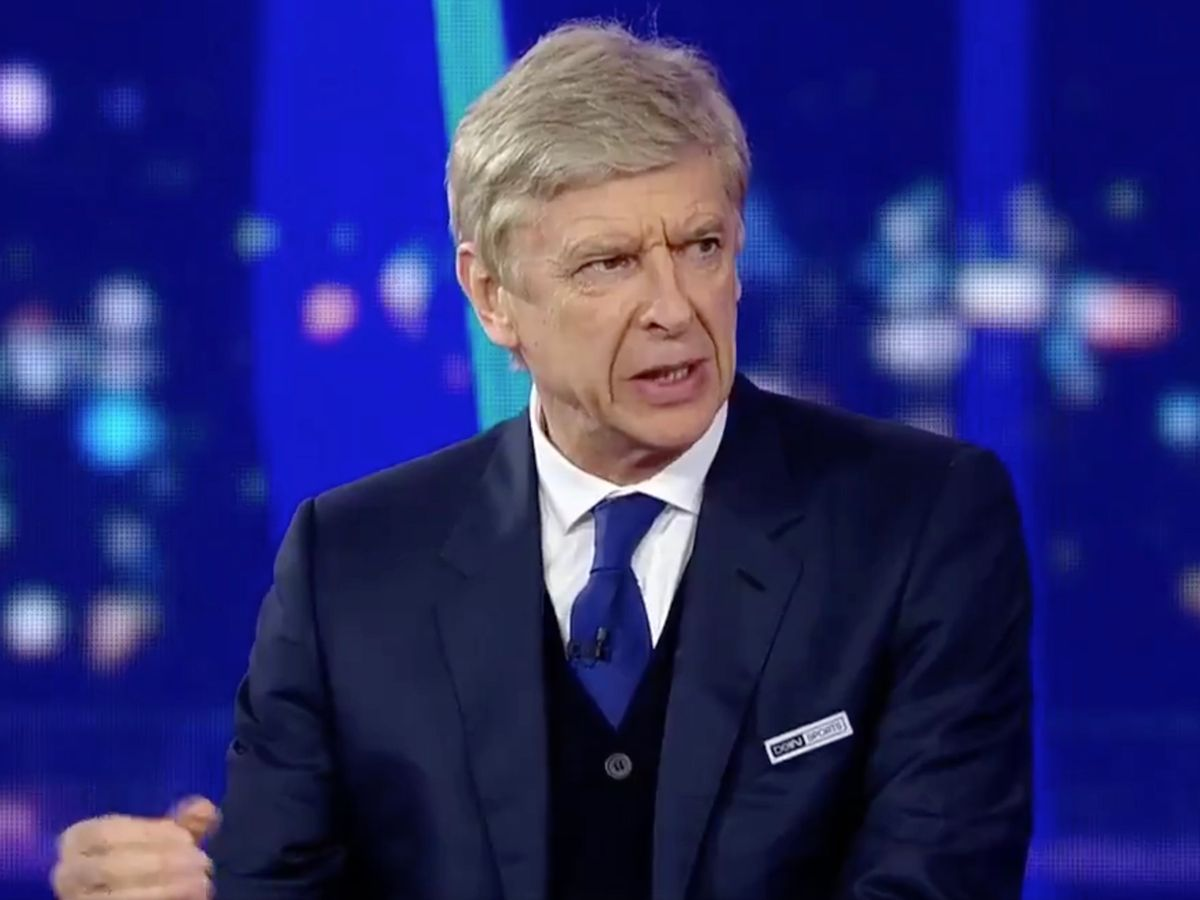 Former Arsenal Boss, Arsene Wenger Believes PSG And Man City As The Only Teams That Can Win UCL Title