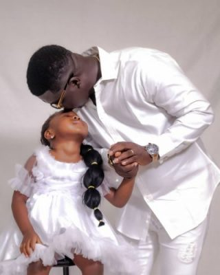 Comedian, Seyi Law Marks Daughter's 4th Birthday With Cute Photos