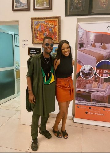 Laycon, winner of BBNaija Season 5 with Vee