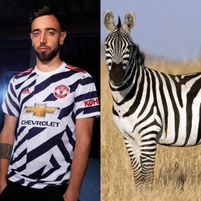Hilarious Tweets Compare Manchester United New Kits With Zebras