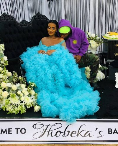 South African Rapper, Cassper Nyovest Welcomes A Baby Boy With His Lover,  Thobeka Majozi