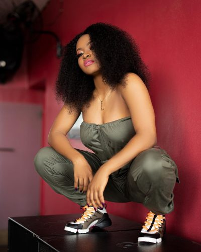 Liya, the first female artist signed to DMW