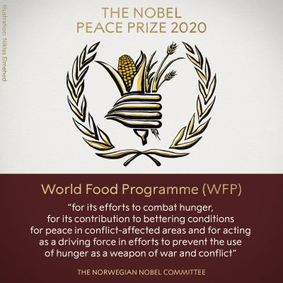 World Food Programme Wins Nobel Peace Prize