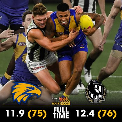 Collingwood Magpies Defeat West Coast Eagles In A Classic Elimination Final
