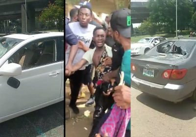 #EndSWAT: Hired Pro-SARS Thugs Attack Protesters In Berger, Abuja