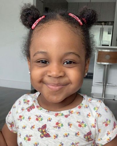 Hailey Veronica Adeleke, Davido's second daughter