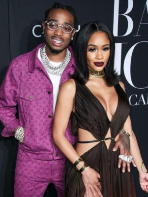 Video Of Quavo And Saweetie Fighting In An Elevator Surfaces Online