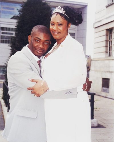 Don Jazzy's first marriage to Michelle Jackson